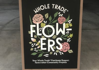 Whole Trade® A-Frame Chalk