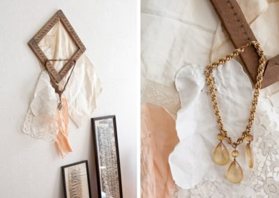 Brass & Glass Necklaces