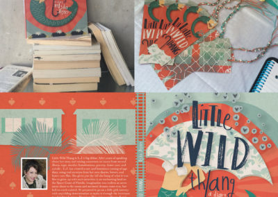 Little Wild Thang Book Cover + Bookmarks - 2016