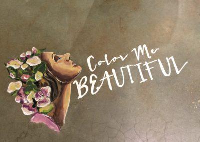 Hello Beauty® Floor Chalk Detail