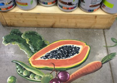 Supplement Sale Floor Chalk Detail