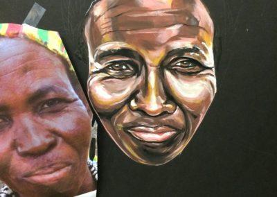 Whole Planet Foundation® Chalk Portrait Detail