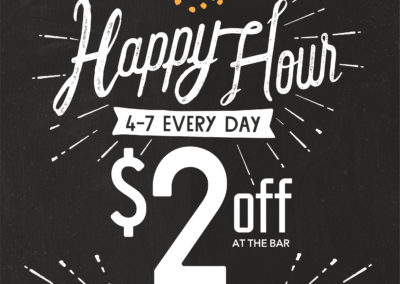 Happy Hour Poster Design