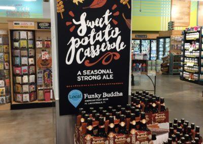 Funky Buddha Seasonal Beer Chalk