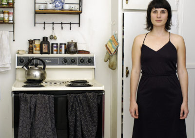 Jen at Home - 2005